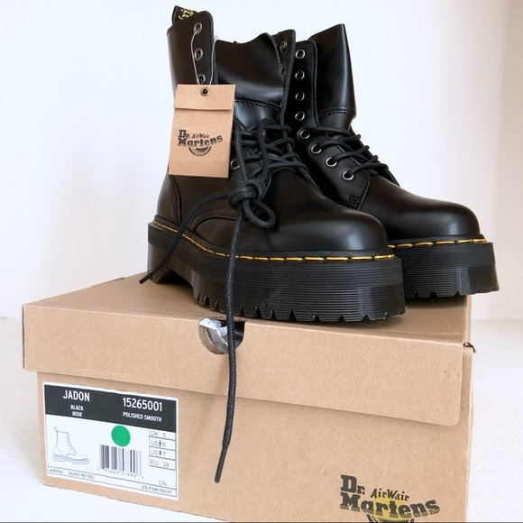 61364d5f1 Dr. Martens JADON 8 EYE Platform Combat BOOTS. M_5afde619caab4424691bcaa4